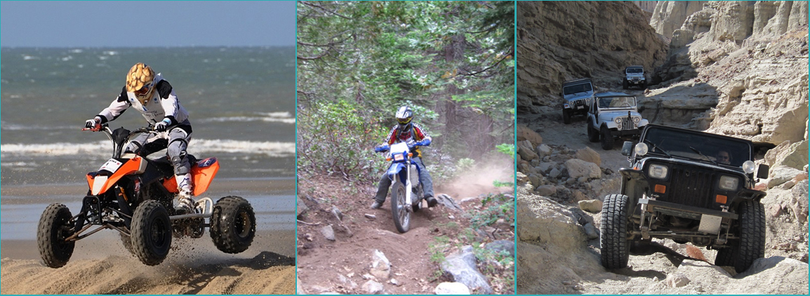 Areas You Can Atv In Southern California Map.California Ohv Roads Trails
